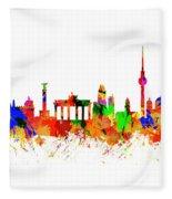 Berlin Brandenburg Gate - 2 Fleece Blanket