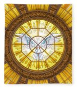 Berlin Cathedral Ceiling Fleece Blanket