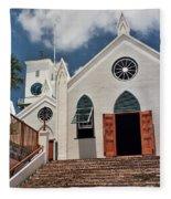 Bermuda Church Fleece Blanket