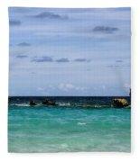 Bermuda Skies Fleece Blanket