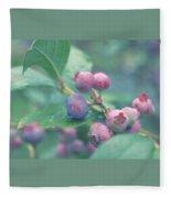 Berries For You Fleece Blanket