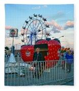 Berry Go Round Fleece Blanket