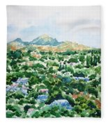 Beshtau Fleece Blanket