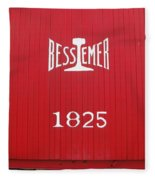 Bessemer Train Fleece Blanket