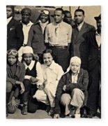 Bessie Coleman Aero Club Fleece Blanket