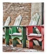 Best Seats In Town Fleece Blanket