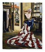 Betsy Ross (1752-1836) Fleece Blanket