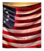 Betsy Ross Flag Fleece Blanket
