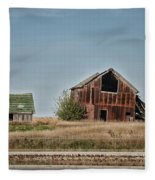 Better Days Central Il Fleece Blanket