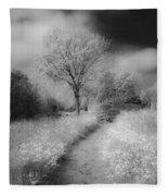 Between Black And White-23 Fleece Blanket