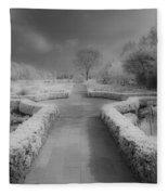 Between Black And White-26 Fleece Blanket