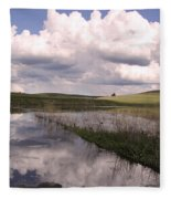 Between Storms Fleece Blanket