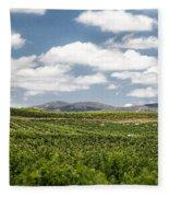 Between The Vines Fleece Blanket