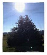 Between These Trees Fleece Blanket