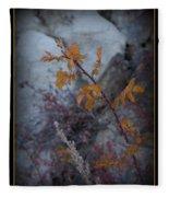 Beware The Thorns Fleece Blanket