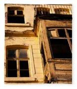Beyoglu Old House 02 Fleece Blanket