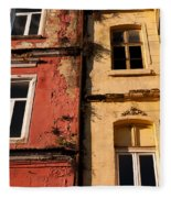 Beyoglu Old Houses 02 Fleece Blanket