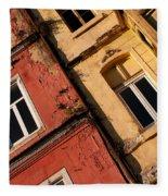 Beyoglu Old Houses 03 Fleece Blanket