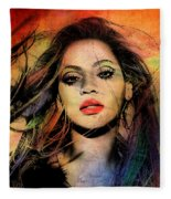 Beyonce Fleece Blanket