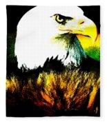 Beyond Eagle View Fleece Blanket