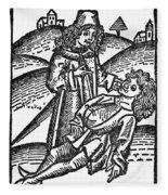 Bezoar Stone, 1491 Fleece Blanket