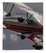 Bi Plane Fleece Blanket