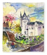 Biarritz 01 Fleece Blanket