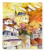 Biarritz 05 Fleece Blanket