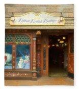 Bibbidi Bobbidi Boutique Fantasyland Disneyland Fleece Blanket