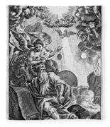 Bible History, 1752 Fleece Blanket