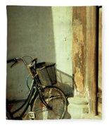 Bicycle 02 Fleece Blanket