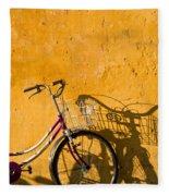 Bicycle 07 Fleece Blanket