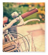 Bicycle Fleece Blanket