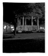 Bienville Square Grandstand Posterized Fleece Blanket