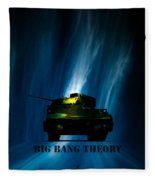 Big Bang Theory Fleece Blanket