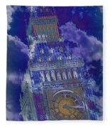 Big Ben 17 Fleece Blanket