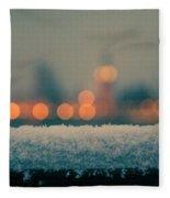 Big Ben Bokeh Fleece Blanket