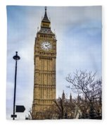 Big Ben Fleece Blanket