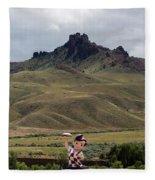 Big Boy Ranch Fleece Blanket