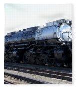 Big Boy - Union Pacific Railroad Fleece Blanket