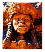 Big Chief Tootie Fleece Blanket