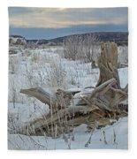 Big Delta Riverbed Fleece Blanket
