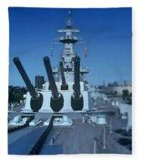Big Guns Fleece Blanket