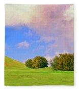 Big Island Ranch Fleece Blanket