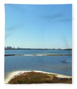 Big Lagoon 1 Fleece Blanket