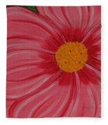 Big Pink Flower - Florist - Gardener Fleece Blanket