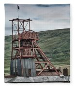 Big Pit Colliery Fleece Blanket