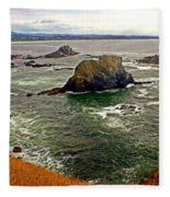 Big Rock Beach Fleece Blanket