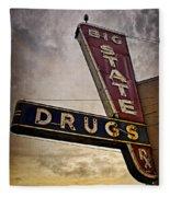 Big State Drugs Irving Fleece Blanket