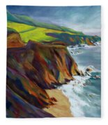 Big Sur 1 Fleece Blanket